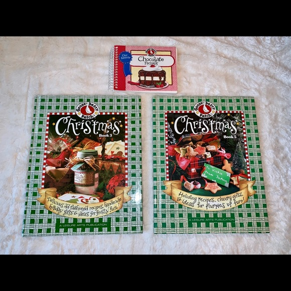 Gooseberry Patch Other - Gooseberry Patch Christmas Craft & Cookbook Bundle